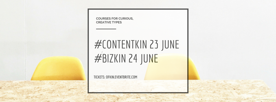Content Kin and Biz Kin social media and business workshops Melbourne June 2015