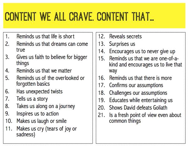 Content-we-crave