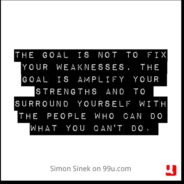 Simon Sinek strengths