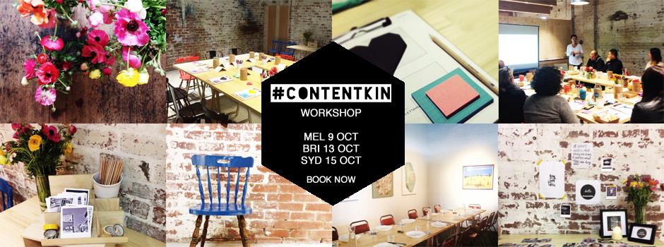 Social media and content marketing for business workshop Melbourne Sydney Brisbane October 2014