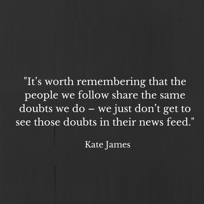 Kate James -Its worth remembering that the people