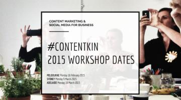 Content marketing and social media workshops Melbourne Sydney Adelaide