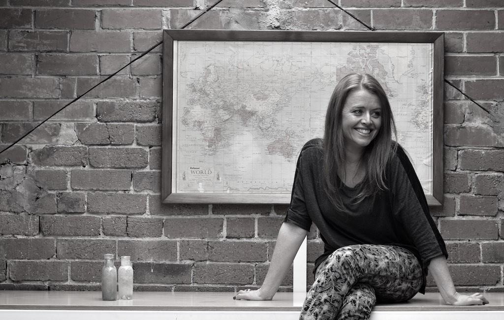 Claire Cau-Cecile, photographed by Claudio Oyacre at Plug2Studio.