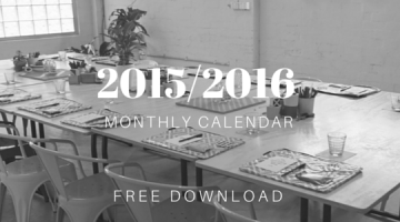 2015 2016 blank monthly calendar free download printable