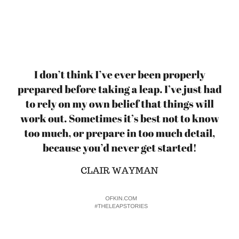 Clair Wayman Quote 4