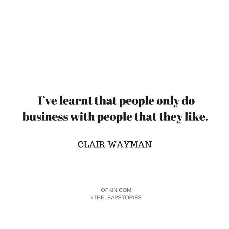 Clair Wayman Quote 5