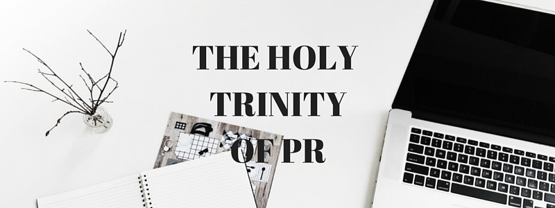 The holy trinity of pr emma diffen for Content Kin