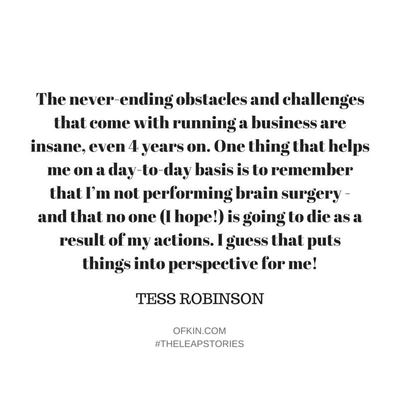 Tess Robinson Quote 5