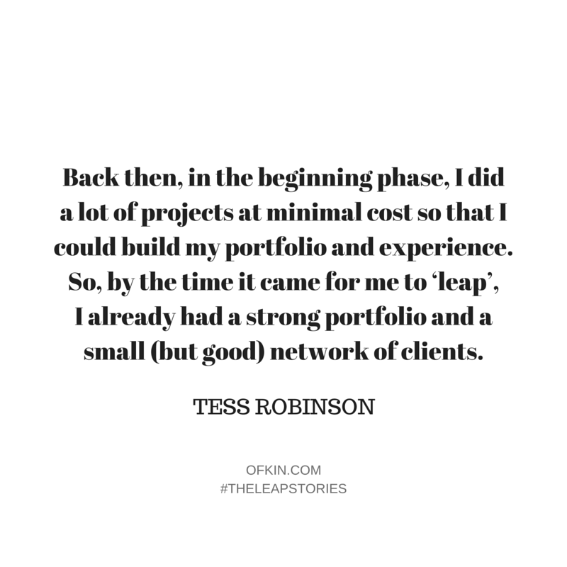 Tess Robinson Quote 6