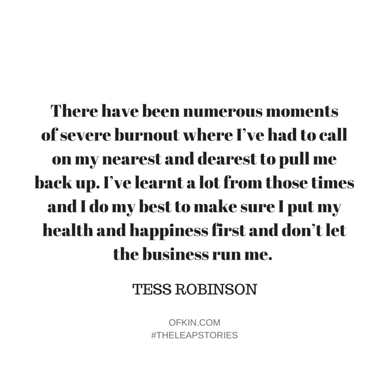 Tess Robinson Quote 7