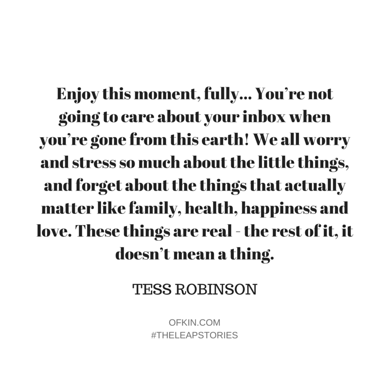 Tess Robinson Quote 8