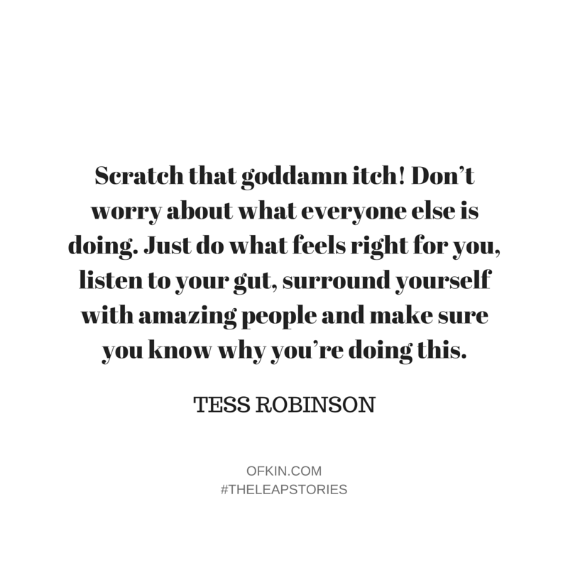 Tess Robinson Quote 9