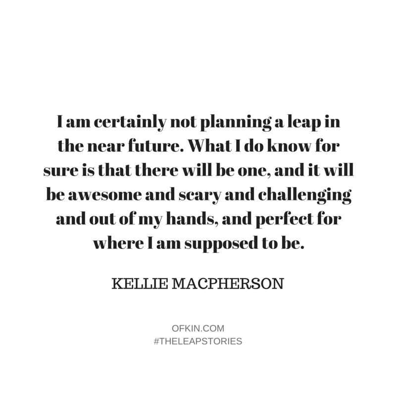 Kellie Macpherson Quote10