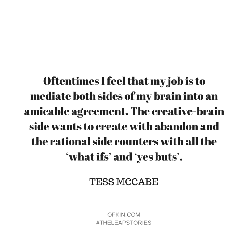 Tess McCabe Quote New