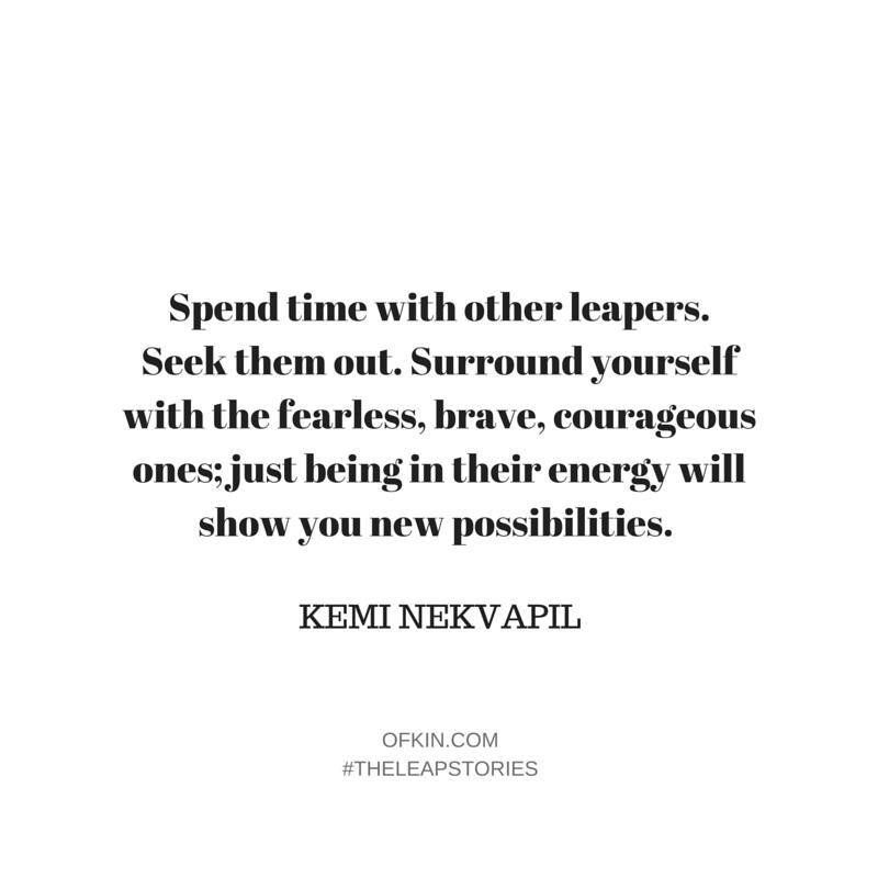 Kemi Nekvapil Fearless Kin quote