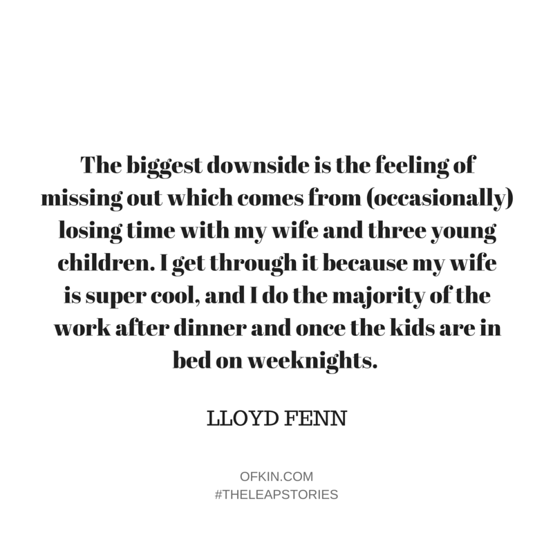 Lloyd Fenn Quote 9