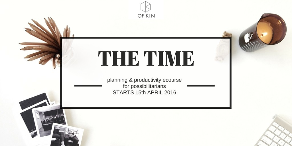 The Time Course Of Kin Productivity Planning Priorities
