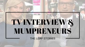 Channel 7 Sunrise Leap Mumpreneur Interview Kylie Lewis Of Kin