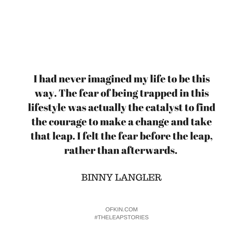 Binny Langler Quote 10