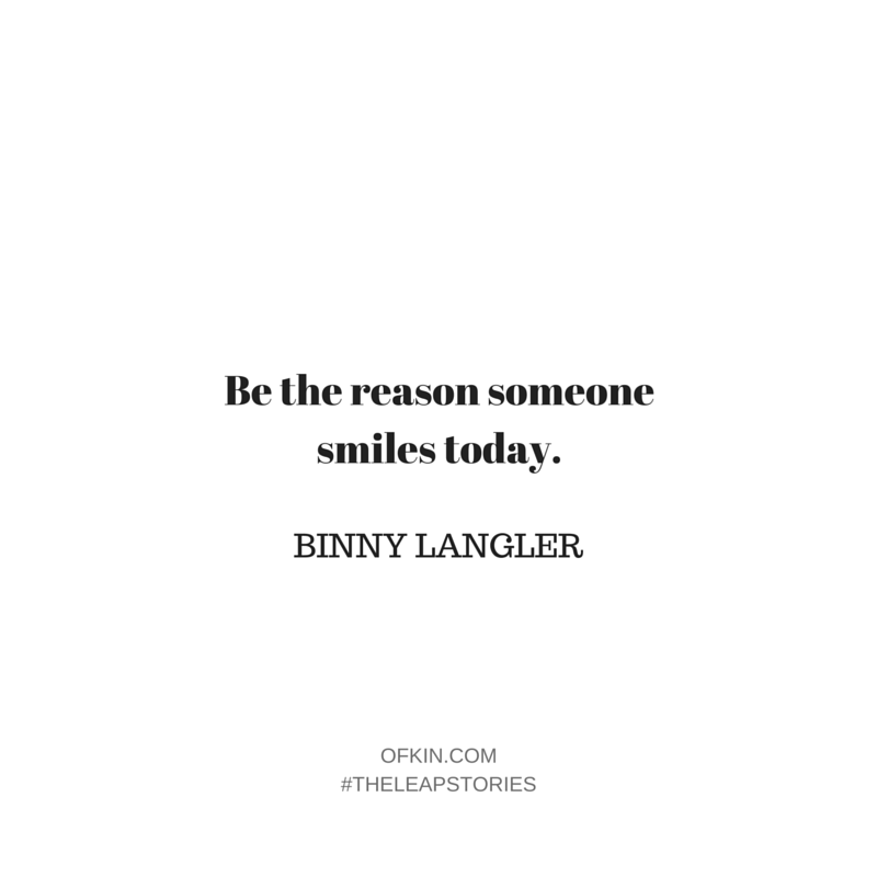 Binny Langler Quote 12