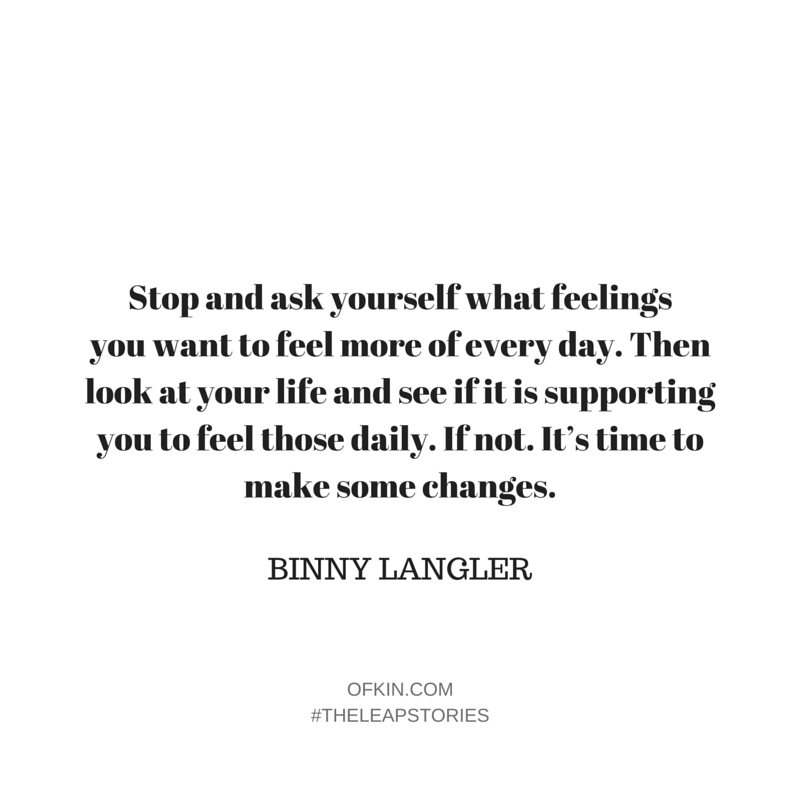 Binny Langler Quote 13