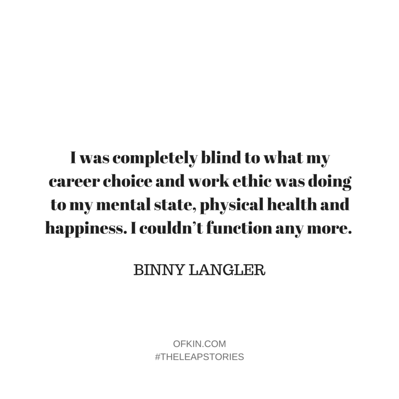 Binny Langler Quote 2