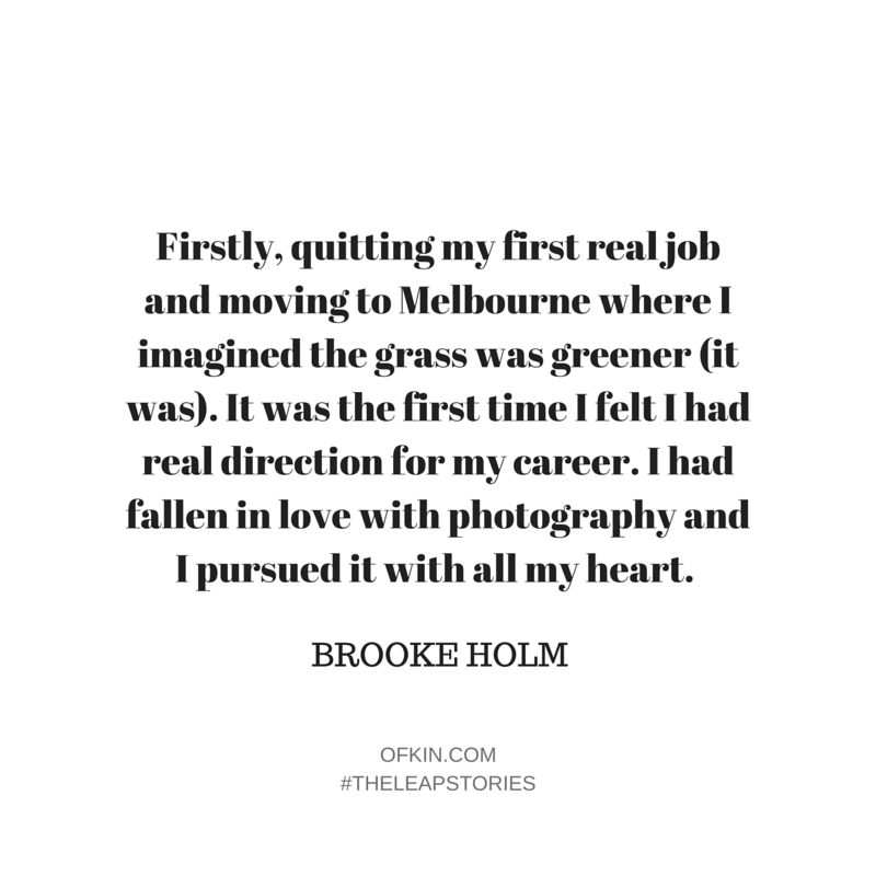Brooke Holm Quote 1