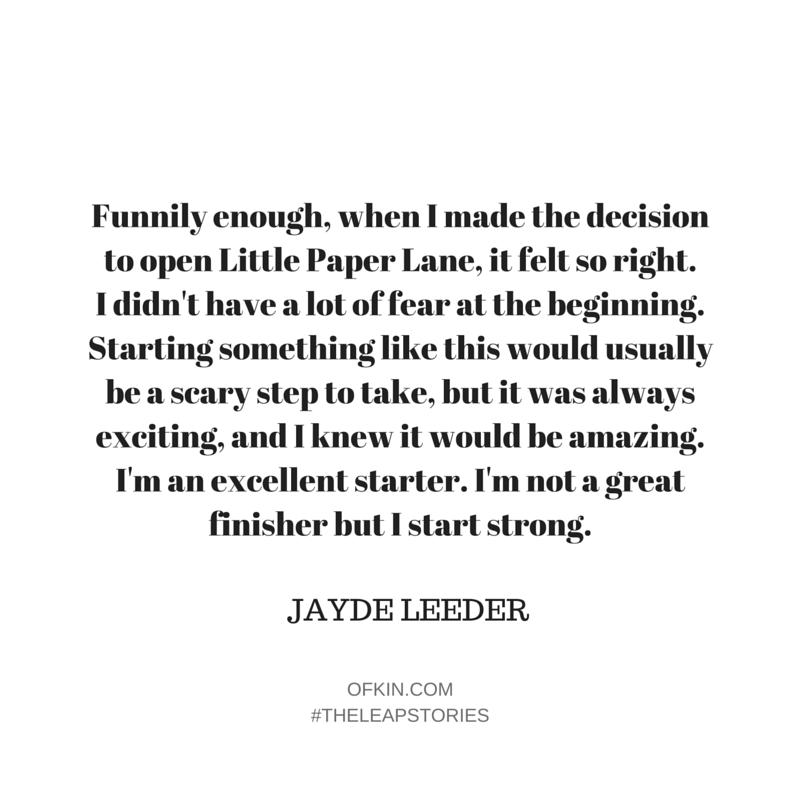 Jayde Leeder Quote 1
