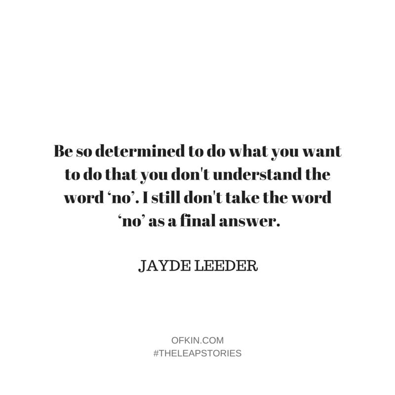 Jayde Leeder Quote 15
