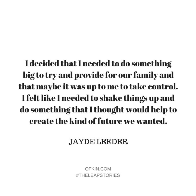 Jayde Leeder Quote 5
