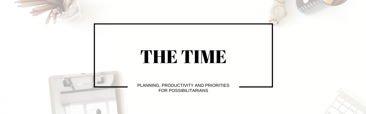 Of Kin The Time eCourse planning productivity goal setting priorities time management