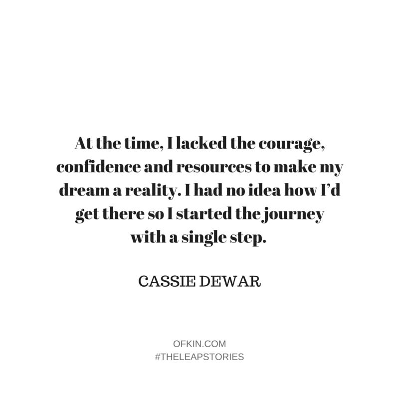 Cassie Dewar Quote 1