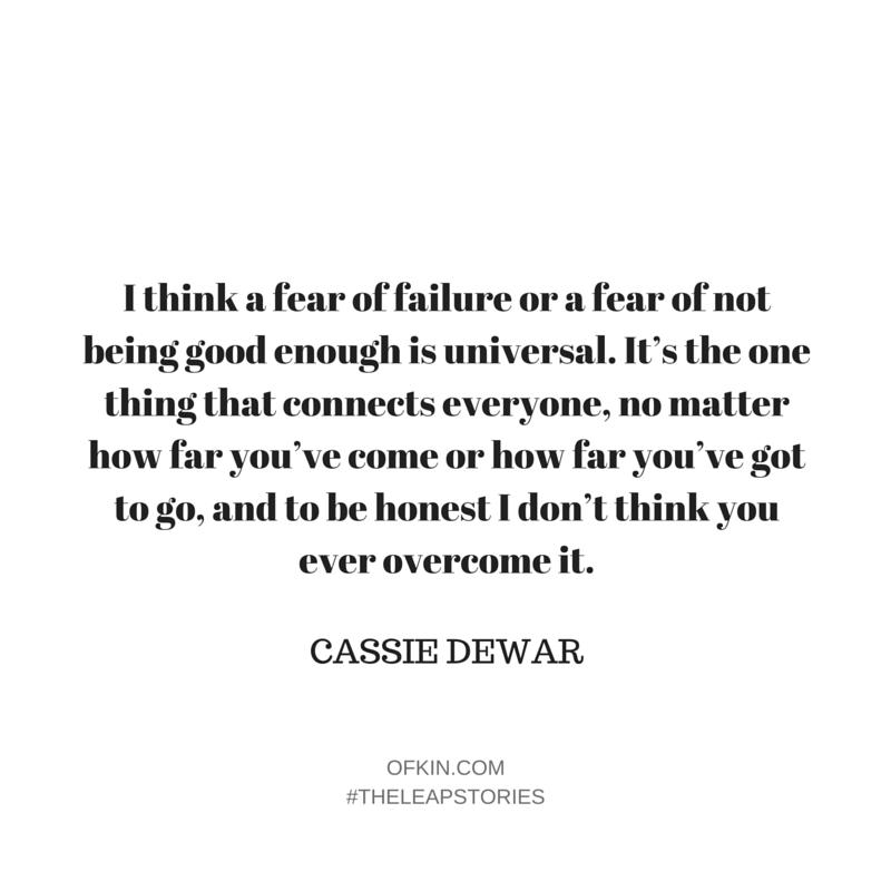Cassie Dewar Quote 4