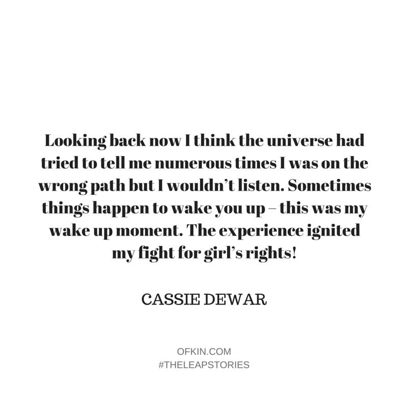 Cassie Dewar Quote 6