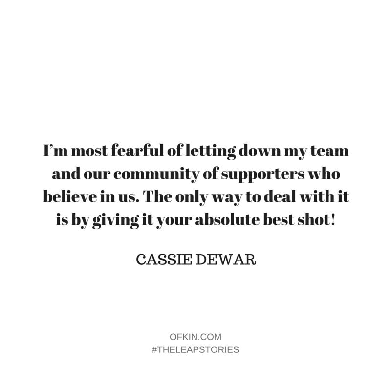 Cassie Dewar Quote 7
