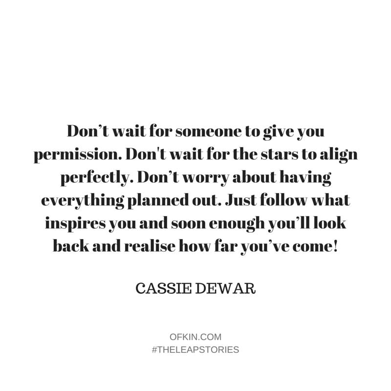 Cassie Dewar Quote 9