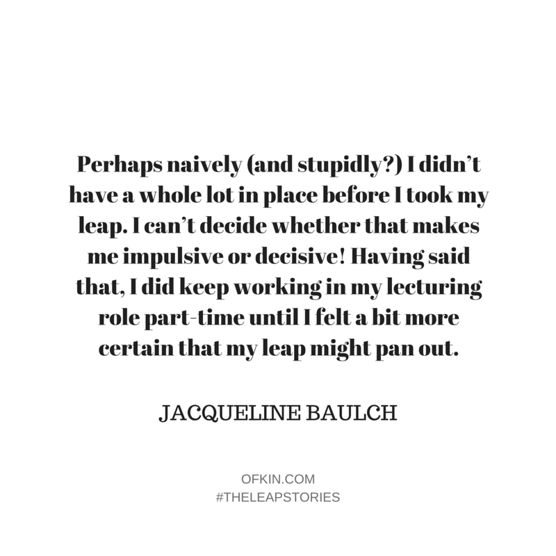 Jacqueline Baulch Quote 3