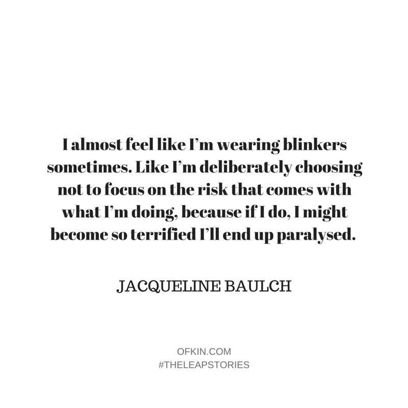 Jacqueline Baulch Quote 5