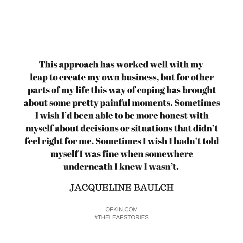 Jacqueline Baulch Quote 6