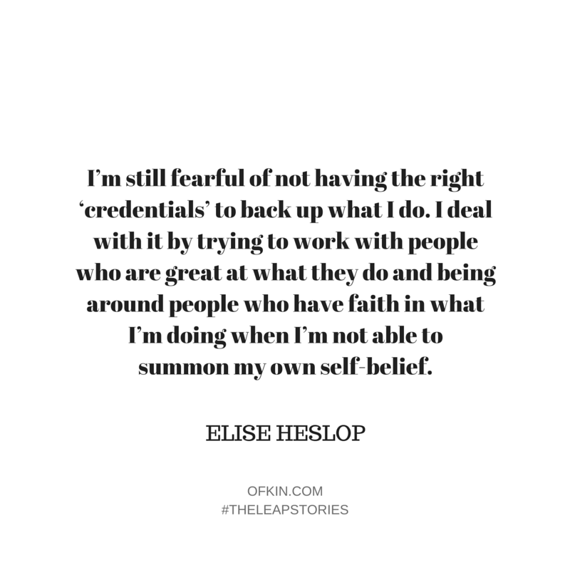 Elise Heslop Quote 9
