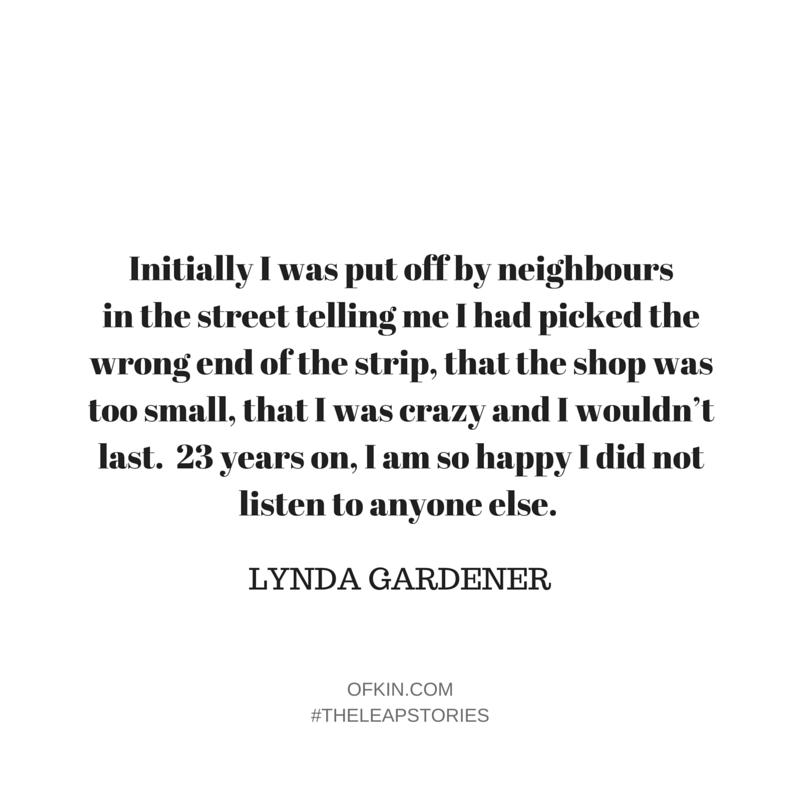 Lynda Gardener Quote 1
