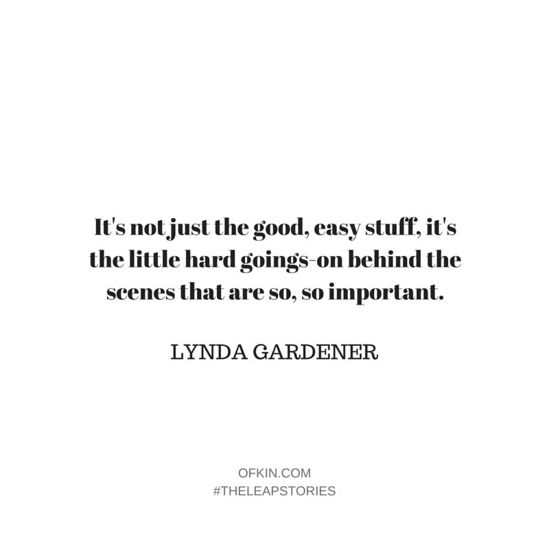Lynda Gardener Quote 10