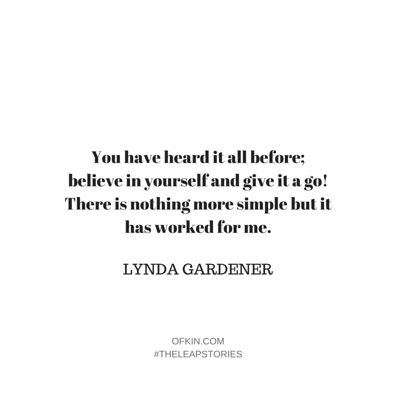 Lynda Gardener Quote 11