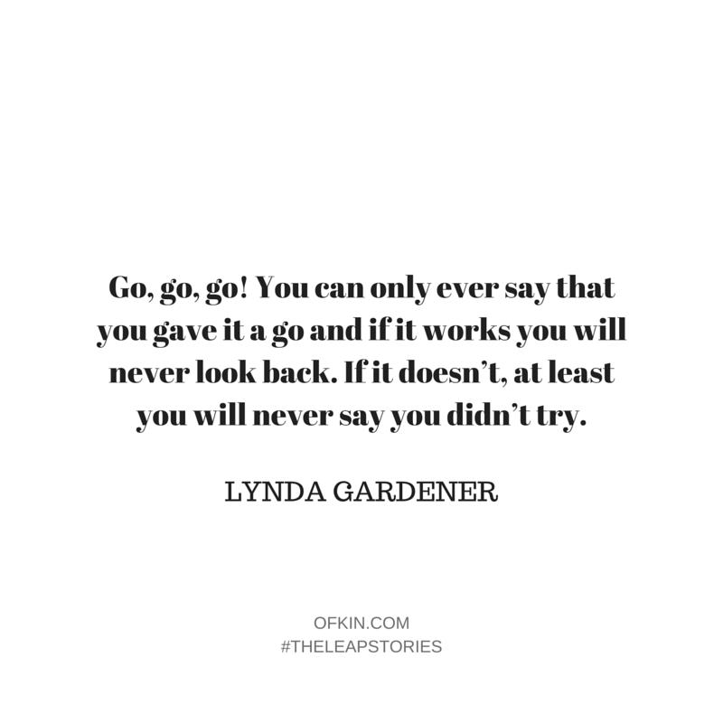 Lynda Gardener Quote 12