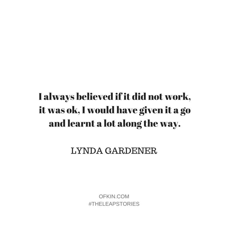 Lynda Gardener Quote 13