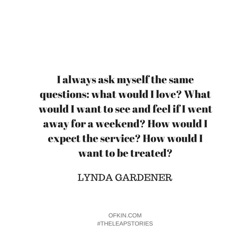 Lynda Gardener Quote 3