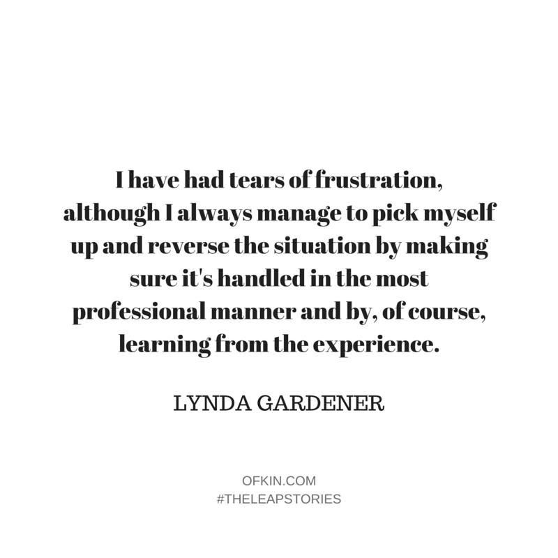 Lynda Gardener Quote 4