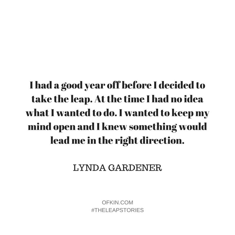 Lynda Gardener Quote 6