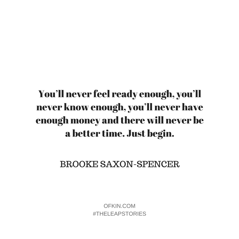 Brooke Saxon-Spencer Quote 12