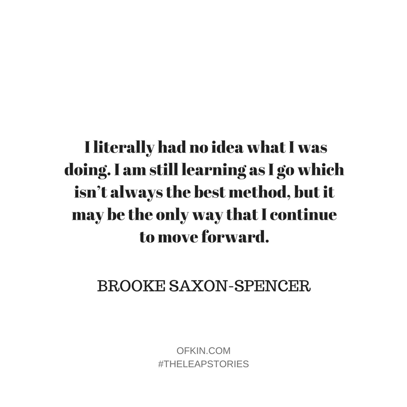 Brooke Saxon-Spencer Quote 2